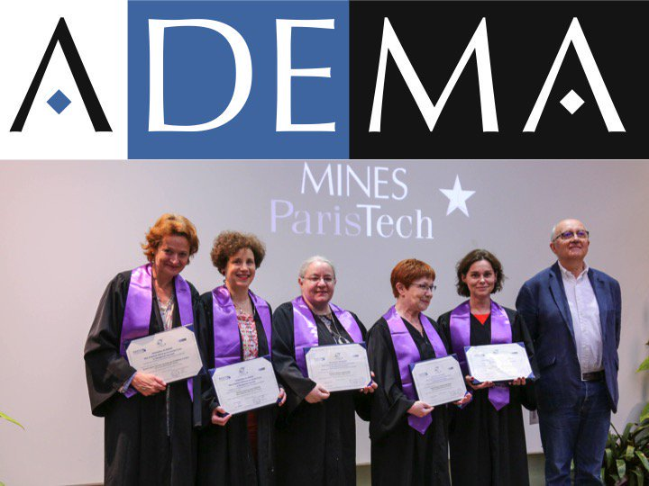 Cérémonie 2017 pour les diplômées du Badge 2016